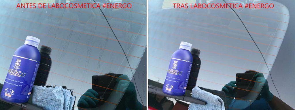 antes y después Labocosmetica Energo