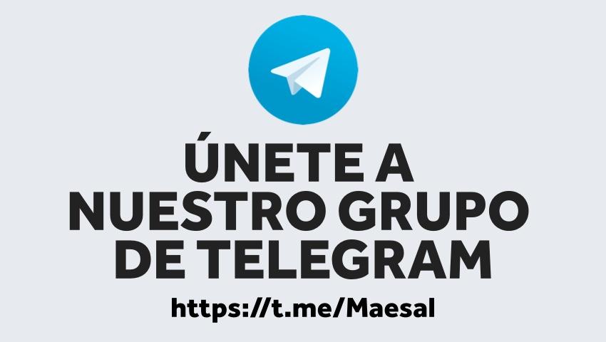 Grupo de Telegram de Maesal Detailer