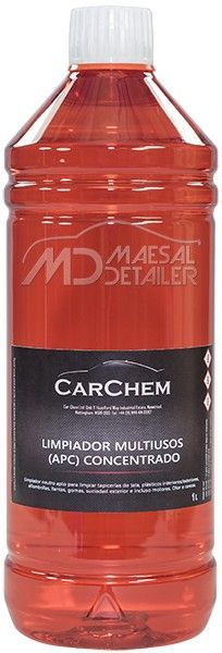 CarChem APC concentrado 1 L (limpiar tapicería coche)