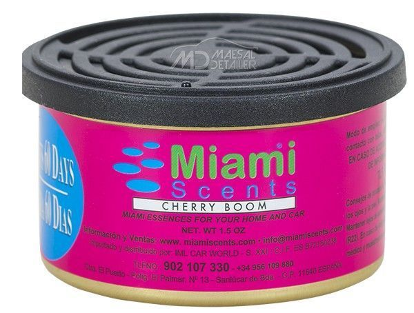Miami Scents Ambientador Cherry Boom Cereza