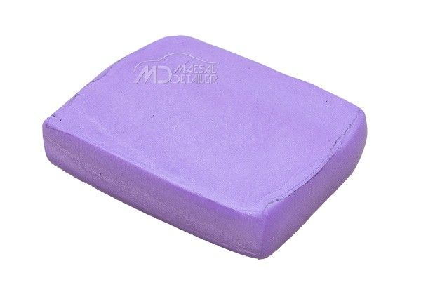 Clay Bar Morada agresiva 100 g (ideal para pulverizados)