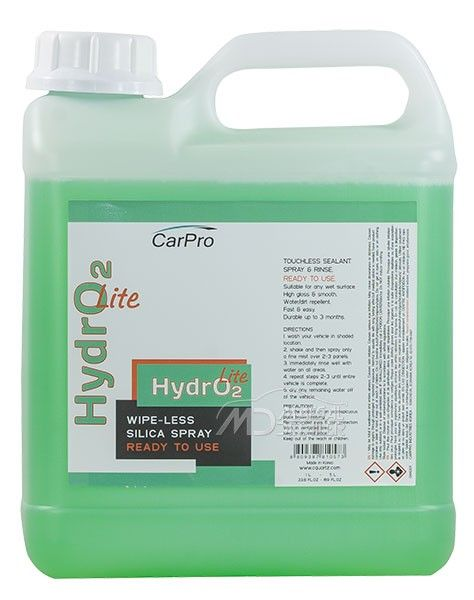 CarPro Hydro2 Lite 4 L - Coating en spray hidrofóbico