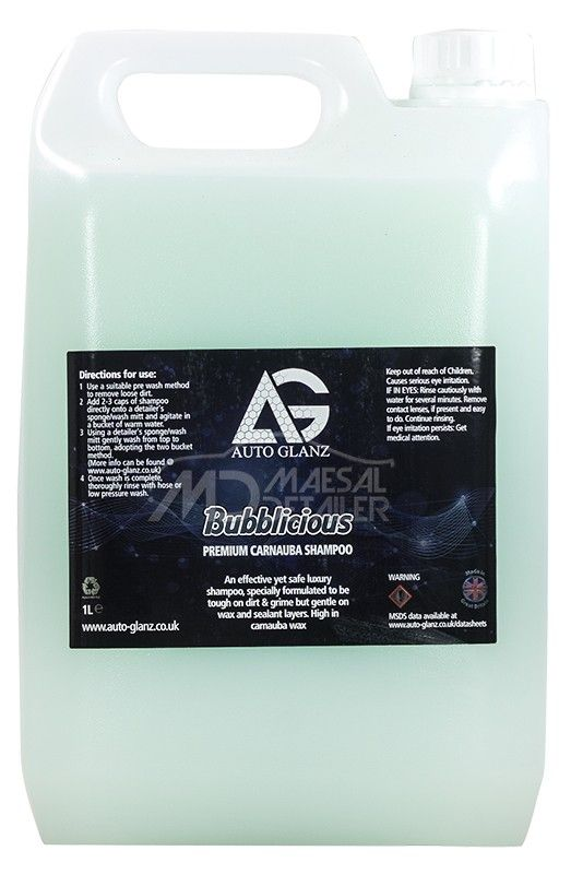 AutoGlanz Bubblicious 5 L - Jabon de coche concentrado