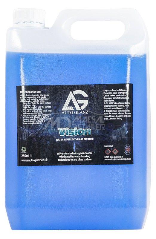 AutoGlanz Vision 5 L - Limpiacristales con repelente de lluvia