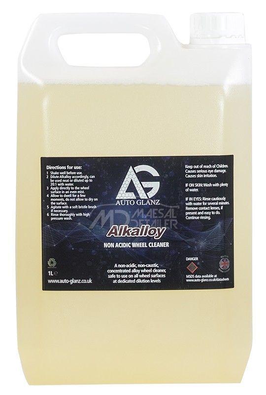 AutoGlanz Alkalloy 5 L - Limpiallantas neutro concentrado