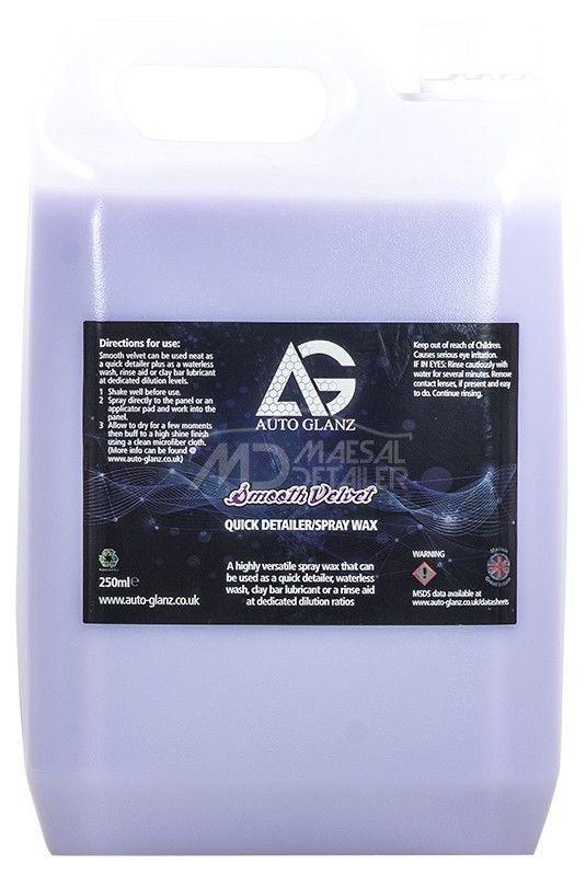AutoGlanz Smooth Velvet 5 L - Quick Detail  - Cera rápida