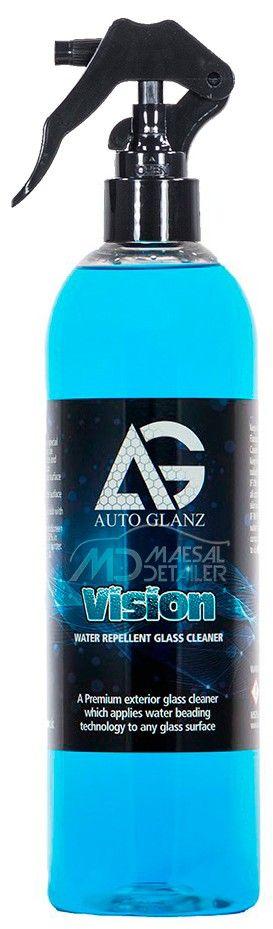 AutoGlanz Vision 500 mL - Limpiacristales con repelente de lluvia