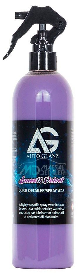 AutoGlanz Smooth Velvet 500 mL - Quick Detail  - Cera rápida