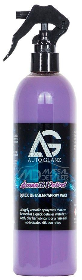 AutoGlanz Smooth Velvet 250 mL - Quick Detail  - Cera rápida