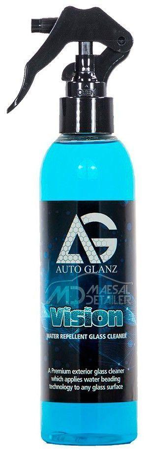AutoGlanz Vision 250 mL - Limpiacristales con repelente de lluvia