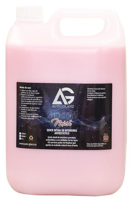 AutoGlanz Mist 5 L - Limpia salpicaderos natural y antiestático