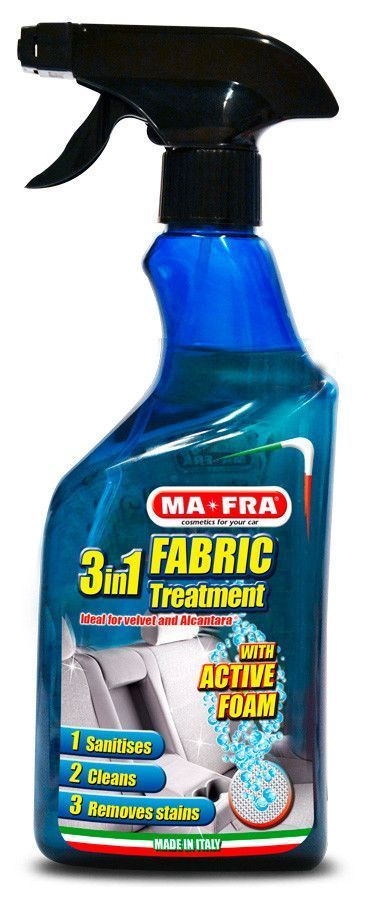 Ma-Fra 3 in 1 Fabric Treatment Limpiar tapiceria y alcantara coche 500 mL