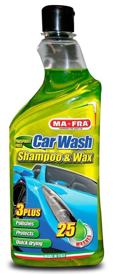 Ma-Fra Car Wash Shampoo&Wax Jabon de coche con cera 750 mL