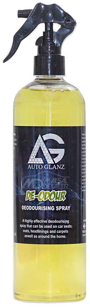 AutoGlanz De-Odour 500 mL - Eliminador de olores