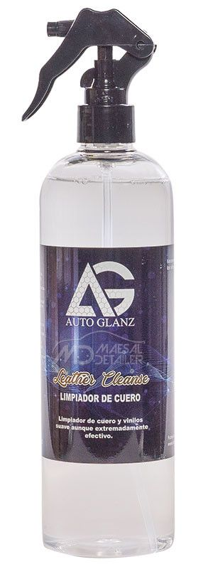 AutoGlanz Leather Cleanse 500 mL - Limpiador de cuero y alcántara