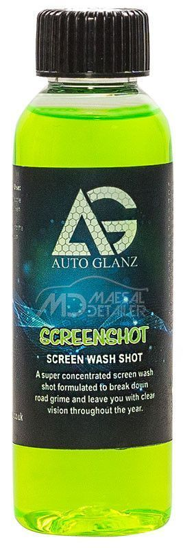 AutoGlanz Screen Shot 100 mL - Lavaparabrisas concentrado