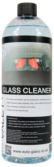 AutoGlanz Glass Cleaner Limpiacristales gama Valet  1 L