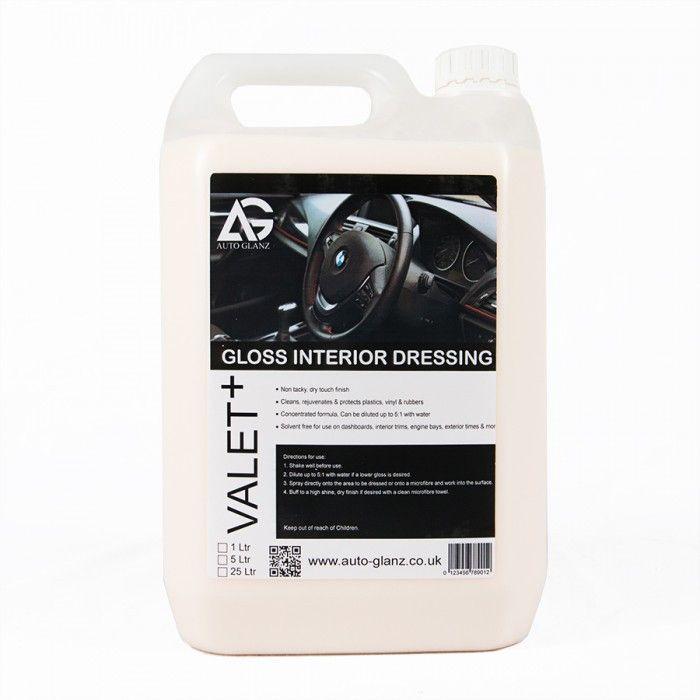 AutoGlanz Gloss Interior Dressing - acondicionador concentrado 5 L