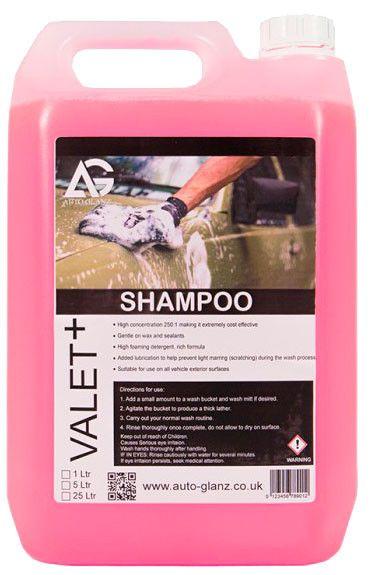 AutoGlanz Shampoo - Jabon de coche 5 L