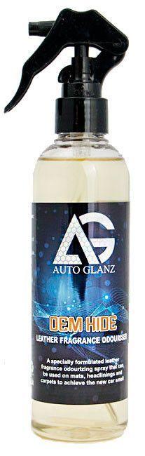 AutoGlanz OEM Hide - Ambientador olor a cuero 250 mL