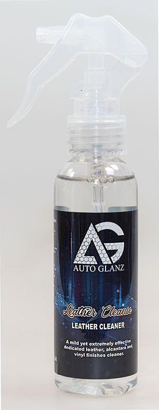 AutoGlanz Leather Cleanse 100 mL - Limpiador de cuero y alcántara