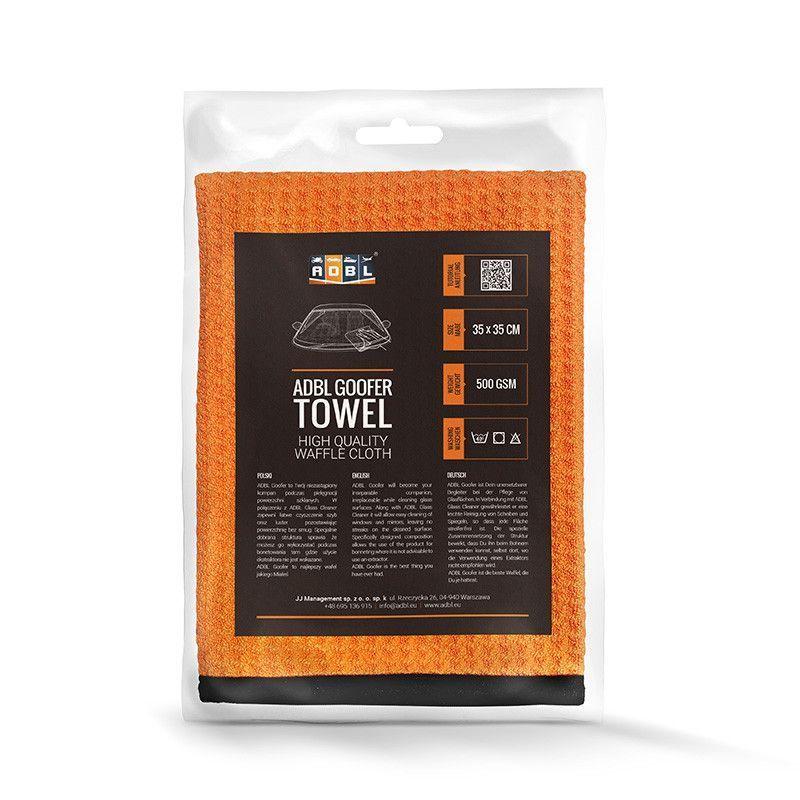 ADBL Goofer Towel - Toalla de cristales 500 GSM 35x35 cm