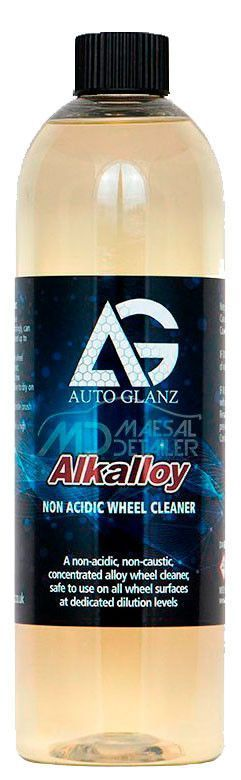 AutoGlanz Alkalloy 500 mL - Limpiallantas neutro concentrado