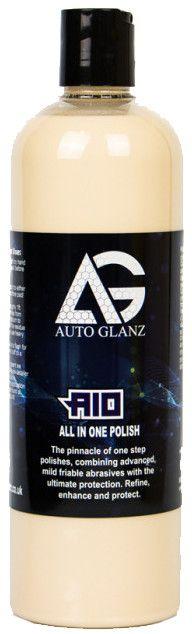 AutoGlanz AIO 250 mL - Refina, abrillanta y protege en un paso !!