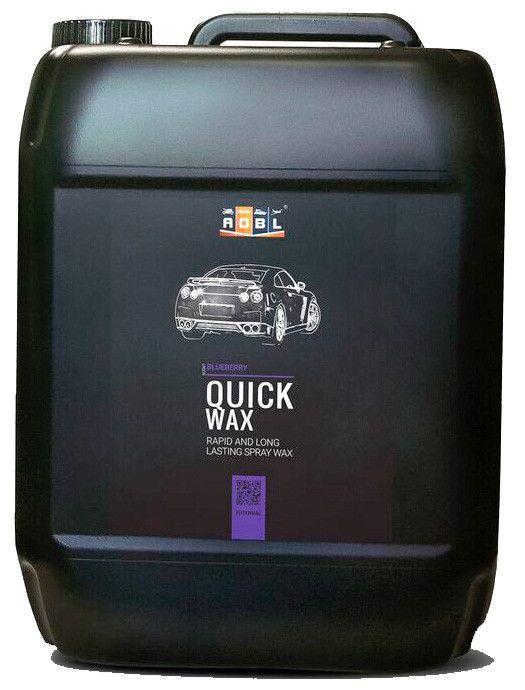 ADBL Quick Wax 5 L - Cera rápida de alto brillo y repelencia al agua