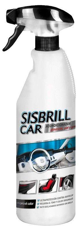 Sislim Sisbrill Car Acondicionador Plásticos, Piel y Gomas 750 mL