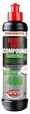 Menzerna Heavy Cut 400 Green Line 250 mL Pulimento de corte