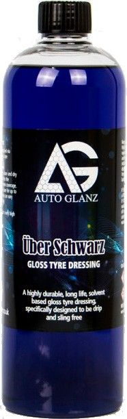 AutoGlanz Über Schwarz - Acondicionador de neumáticos 500 mL