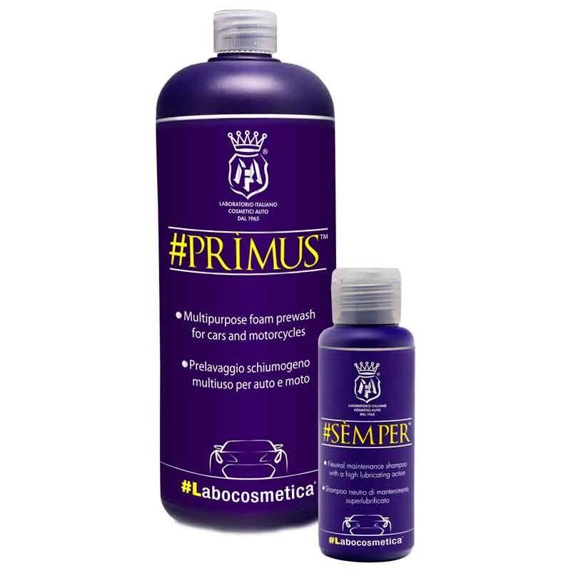 Kit de lavado de primavera Labocosmetica (Semper 100 mL +  Primus 1 L)
