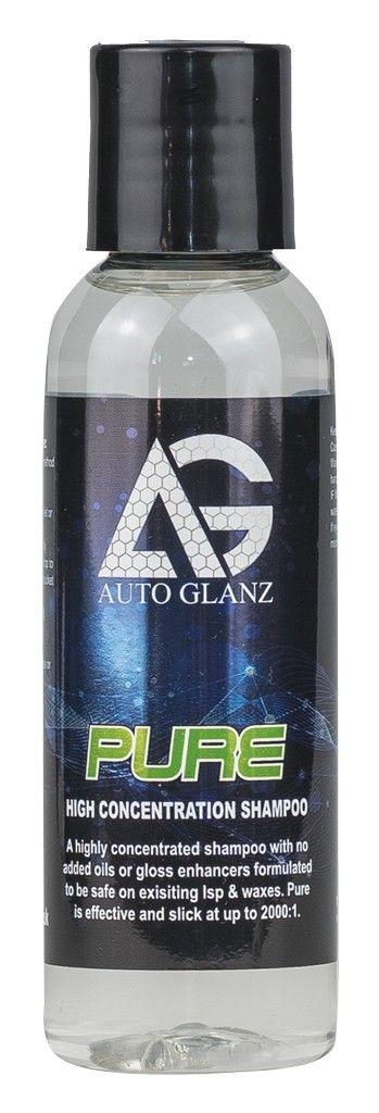 AutoGlanz Pure 100 mL - Jabon de lavado de coches ultra concentrado