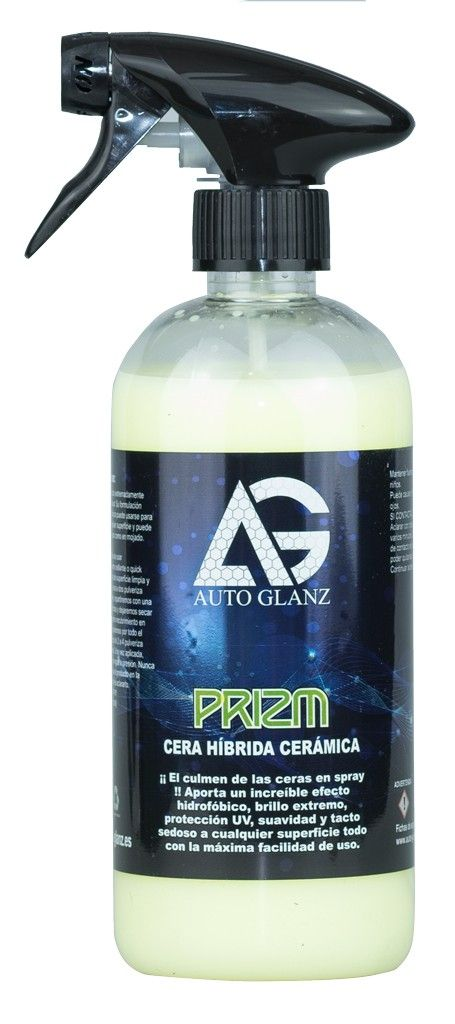 AutoGlanz Prizm - Cera híbrida cerámica 500 mL