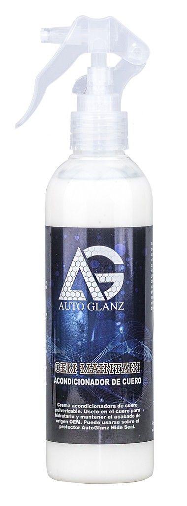 AutoGlanz OEM Maintain Acondicionador de cuero 250 mL