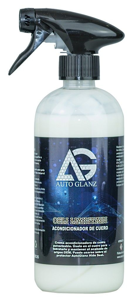AutoGlanz OEM Maintain Acondicionador de cuero 500 mL