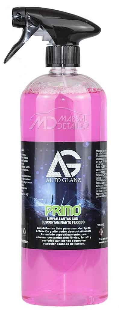 AutoGlanz Primo - Limpiallantas con descontaminante férrico 1 L