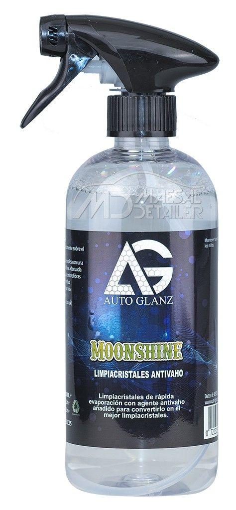 AutoGlanz MoonShine 500 mL - Limpiacristales con antivaho