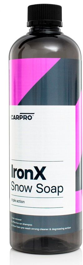 CarPro IronX Snow Soap 0.5 L - Espuma prelavado con descontaminante férrico