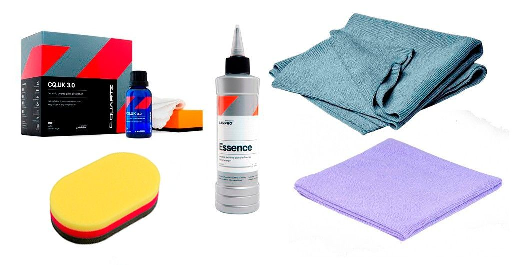 Kit de preparación y máxima protección de pintura