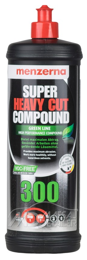Menzerna Super Heavy Cut Compound 300 Green Line 1 L Polish corte