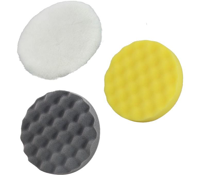 Kit de esponjas para pulidora de coche rotativa de 135 mm de diámetro