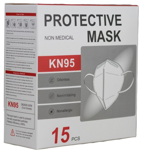 Pack de 15 mascarillas KN95