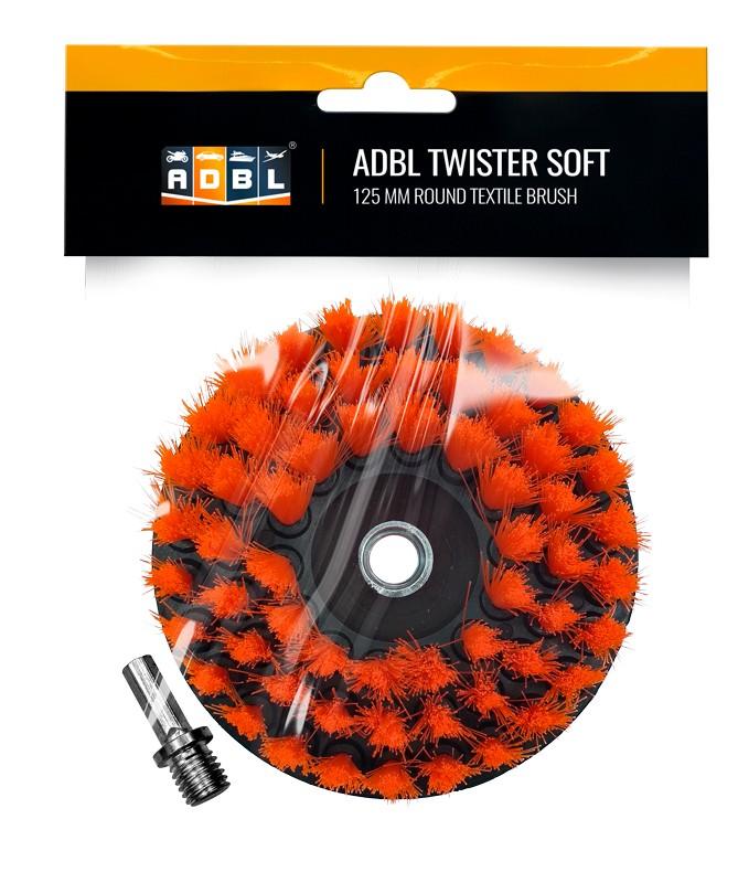 ADBL Twister Soft 125 mm Cepillo para pulidora rotativa o taladro