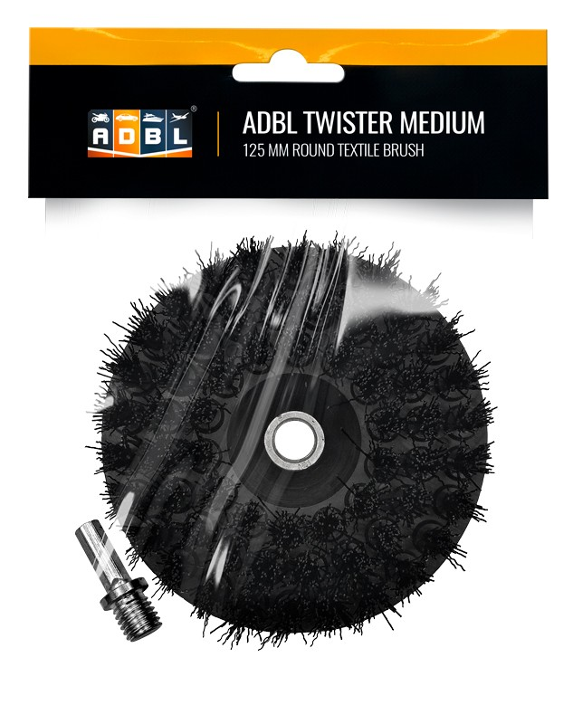 ADBL Twister Medium 125 mm Cepillo para pulidora rotativa o taladro