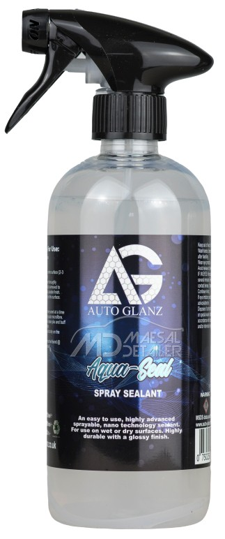 AutoGlanz Aqua-Seal Sellante nanotecnológico en spray 500 mL