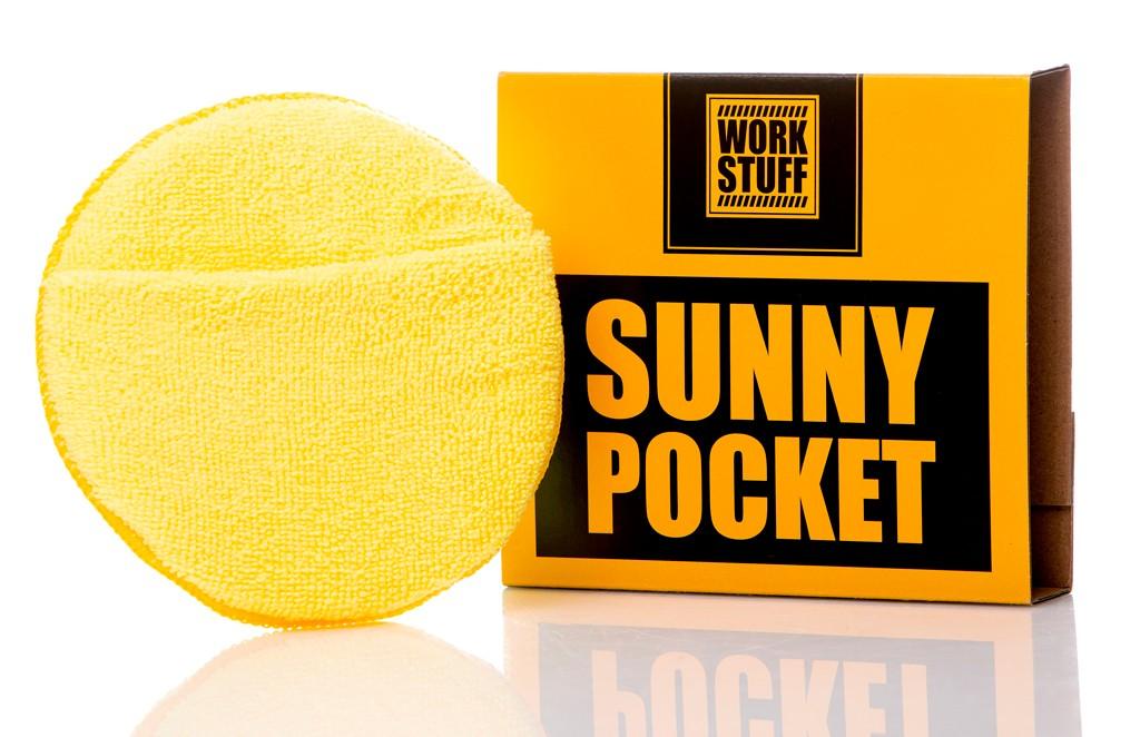 Work Stuff Sunny Pocket Aplicador de microfibras con bolsillo