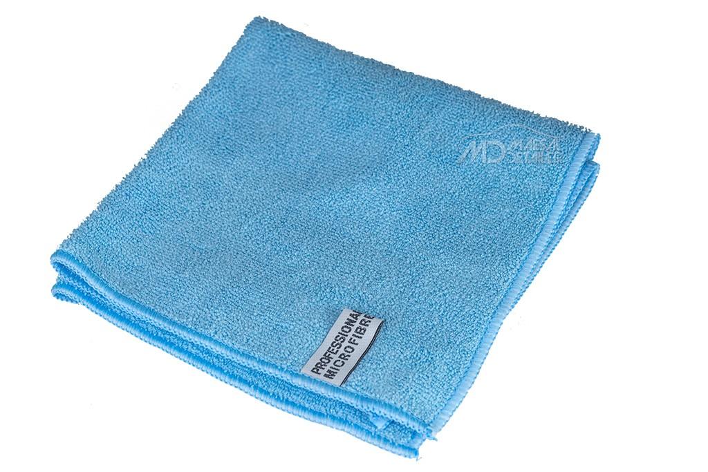 Toalla microfibra multiusos profesional azul 40x40 cm 300 GSM (unidad)