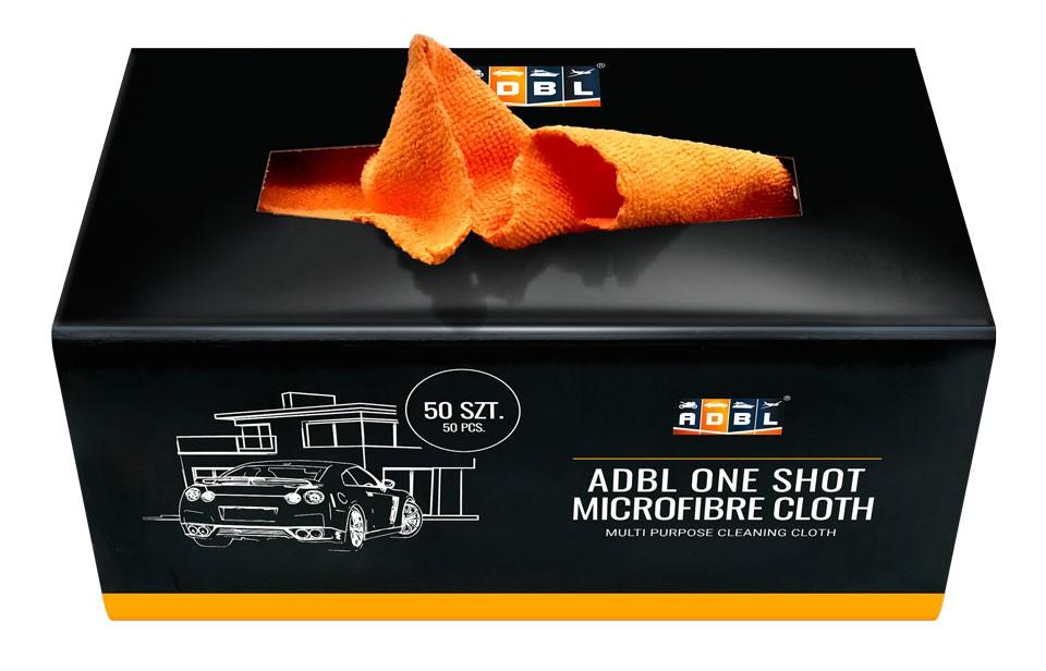 ADBL ONE SHOT kit de 50 toallas de microfibras 30x30 cm 200 GSM